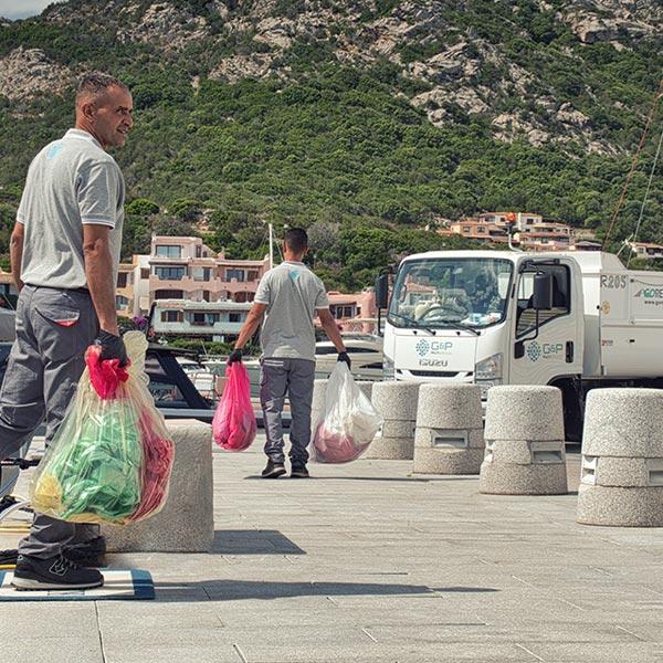 smaltimento rifiuti Porto Cervo